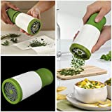Herb Mill Grinder Spice Mill Shredder Chopper Cutter Kitchen Tool (stainless Steel)+ Free 1 Incense Stick Pack...