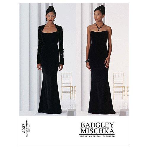 Vogue Patterns V2237 Misses' Evening, Size 14-16-18