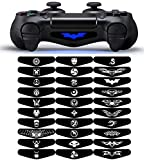 Light Bar Decal Stickers Set of 30 Different Pcs for PS4 Playstation 4 Controller - Mix Stickers
