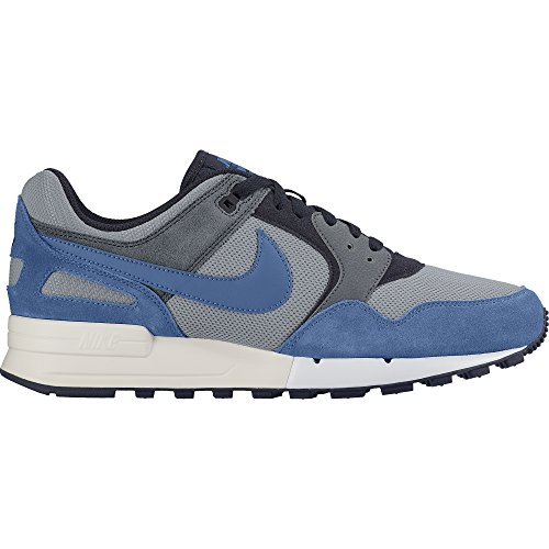 Nike Men's Air Pegasus 89 Running Shoes Wolf Grey/Star Blue-Coastal Blue 8 (Nike Air Pegasus 89 compare prices)