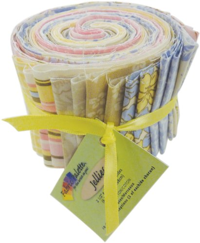 Fabric Palette 2-1/2-Inch by 42-Inch Cuts Jellies 100-Percent Cotton, 20-Pack, Simple Vintage