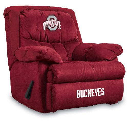 NCAA Ohio State Buckeyes Home Team Microfiber Recliner