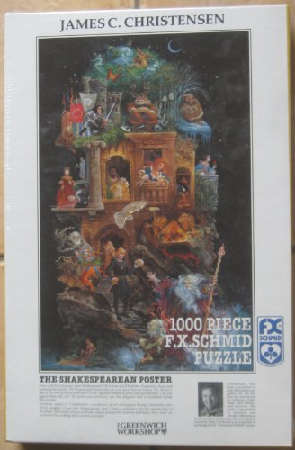 Cheap F.X. Schmid James C. Christensen – The Shakespearean Poster (1000 piece 26.5 x 17.25″ Puzzle) (B002PWC8VK)