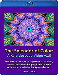 The Splendor of Color: A Kaleidoscope Video (Hi-def Blu-ray Edition - European PAL format)