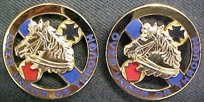 104th Cavalry Distinctive Unit Insignia - Pair