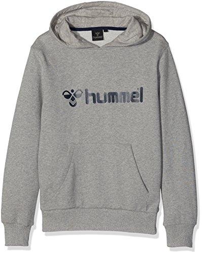 Hummel - Felpa con cappuccio, serie Classic Bee, Unisex, Sweatshirt Classic Bee Hood, grigio, L