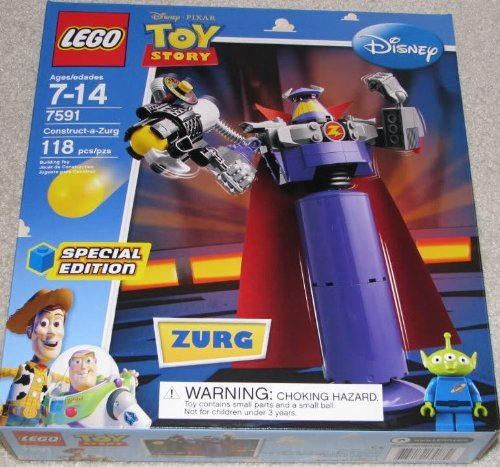 LEGO Disney / Pixar Toy Story Exclusive Special Edition Set #7591 Construct a Zurg Amazon.com