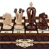 Chess Set - Royal 30 European Wooden Handmade International Chess Set - 11-3 4 x 11-3 4