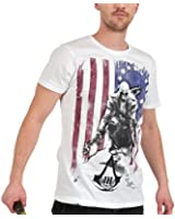 Bioworld Merchandising - Assassin's Creed III T-Shirt Burned Flag (S)