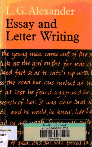 letter writing and essay writing
