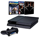 Pack PS4 500 Go + Destiny : le Roi des Corrompus + Call of Duty : Black Ops III + Steelbook