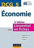 DCG 5 Economie - 3e éd. - L'essentiel en fiches