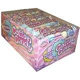 Dubble Bubble Cotton Candy Bubble Gum 5 Pieces Per Sleeve (Pack of 36)