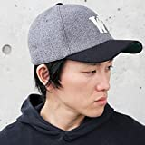 OLDMAN'S (オールドマンズ) ウール ツイード ベースボールキャップ 帽子 ボールキャップ メンズ レディース コメ NEGRO キャップ BALL CAP フランネル TWEED