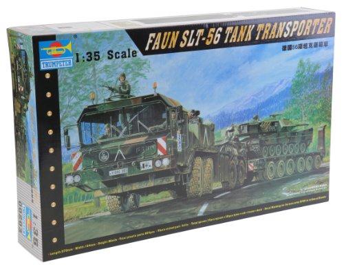Trumpeter 1/35 German Faun Elefant SLT56 Tank Transport (Tank Transporter compare prices)
