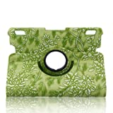 ELEOPTION(TM) 360 Degree Rotating Auto Sleep / Wake Function Smart Case Cover with Multi-angle Viewing for Kindle Fire HDX 7 Inch Tablet 7