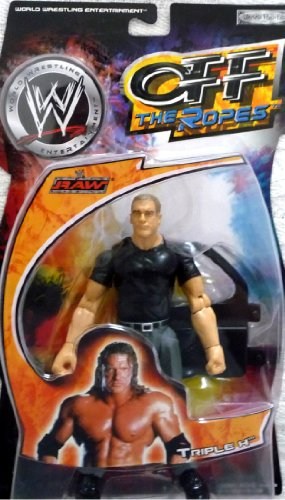 TRIPLE H - WWE Wrestling Exclusive Off the Ropes Toy Figure by Jakks Pacific - 1