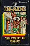 img - for The Towers of Melnon (Richard Blade Series, #15) book / textbook / text book
