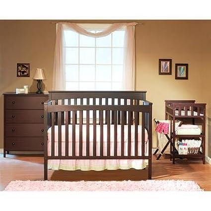 Baby Crib 55.12 x 29.63 x 44.13 Abc Nursery Bedding Sets Cribs Doll Sheets Mattress Glenna Jean