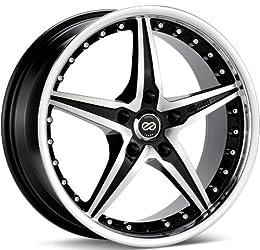 Enkei L-SR- Luxury Series Wheel, Black Machined (20×9.5″ – 5×114.3/5×4.5, 40mm Offset) One Wheel/Rim