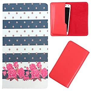 DooDa - For iberry Auxus Nuclea X PU Leather Designer Fashionable Fancy Case Cover Pouch With Smooth Inner Velvet