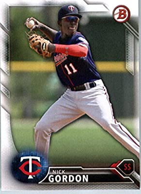 2016 Bowman Prospects #BP97 Nick Gordon Minnesota Twins Baseball Card-MINT