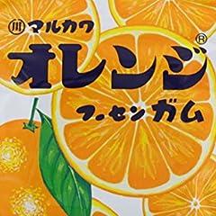 丸川製菓 チャック袋オレンジフーセンガム 47g×10袋