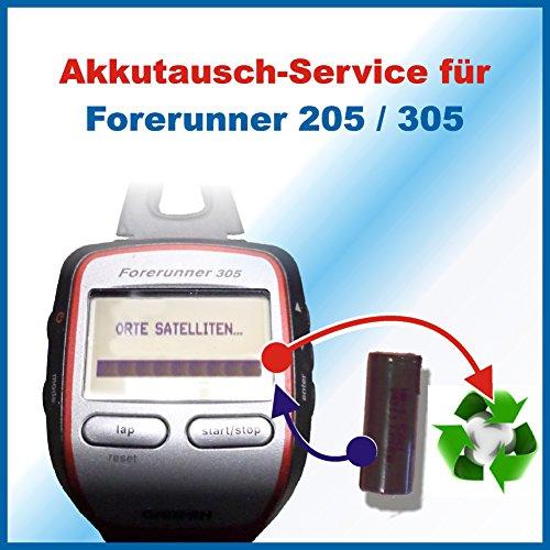 akkutausch-service-garmin-forerunner-205-305-achtung-ohne-vorher-zugesendetes-versandmaterial-sehen-
