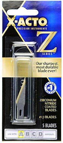 X-Acto Z Series #11 Refill Blades-5/Pkg (Xacto Knife Z Blades compare prices)