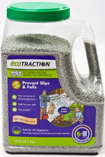 Sale!! EcoTraction ET4RJ All Natural Volcanic Mineral Ice Traction Granules - 10 Pound Jug