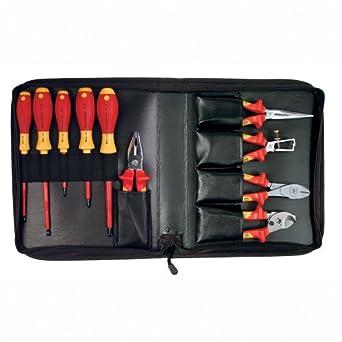 wiha 32891 insulated pliers and screwdriver set 1000 volt 10 piece wiha tools screwdriver. Black Bedroom Furniture Sets. Home Design Ideas