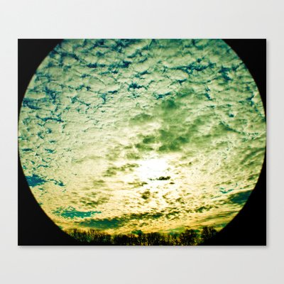 Society6 - Space Telescope Stretched Canvas By Christopher Watson