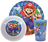 How To Super Mario Coins 3-Piece Dinner Set | Mealtime | Dinnerware Purchase