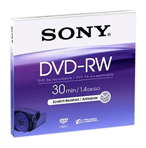 Sony DNW30B DVD-RW (8cm) 1.4 Go