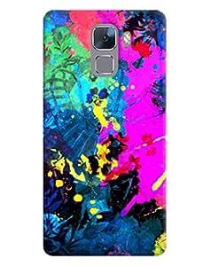 FurnishFantasy 3D Printed Designer Back Case Cover for Huawei Honor 7