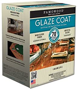 FAMOWOOD® GLAZE COAT CLEAR EPOXY GALLON KIT