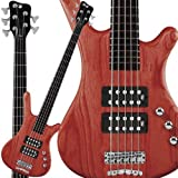 Warwick Rock Bass Corvette $$ 5-String Bass Guitar (Burgundy Red)