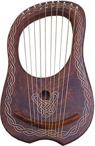 new-lyra-harp-10-strings-rose-wood-lyre-harp-10-strings-rosewood-carrying-case