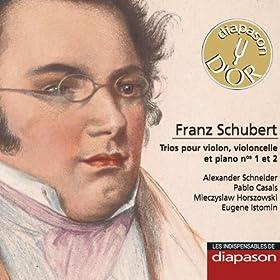 Schubert: Trios pour violon, violoncelle & piano Nos. 1 & 2�(Les indispensables de Diapason)