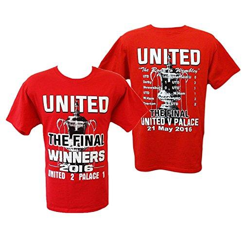 "Extra Large XXL Manchester United la Coppa Finale FA a Wembley 2016 tamburo """