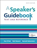 img - for A Speaker's Guidebook: Text and Reference book / textbook / text book