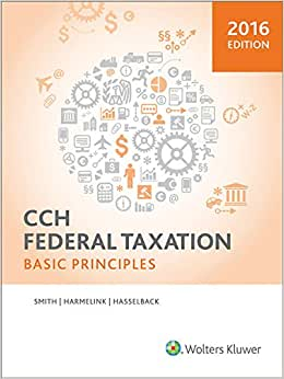 Federal Taxation: Basic Principles (2016)