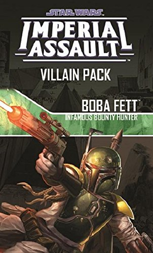 Imperial Assault: Boba Fett, Infamous Bounty Hunter Villain Pack Board Game - 1