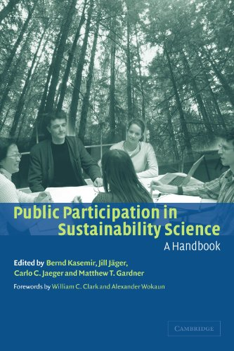 Public Participation In Sustainability Science: A Handbook front-1012446