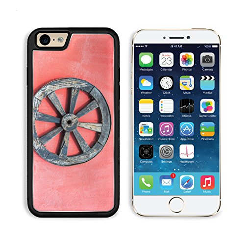 MSD Premium Apple iPhone 6 iPhone 6S Aluminum Backplate Bumper Snap Case IMAGE ID 35946043 Old wagon wheel and a red wall near Cotopaxi Volcano in Ecuador (Red Wagon Tutorials compare prices)