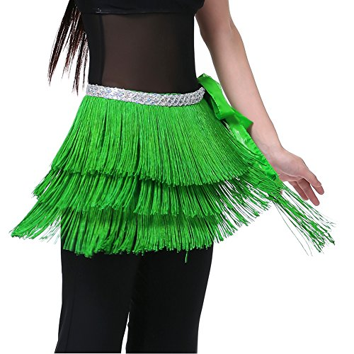 Dance Fairy Dance Green Triangle Belly Dance Indian hip scarf Best gift