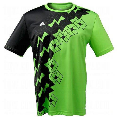 adidas Predator ClimaLite T-Shirt (Green) Predator Climalite Short