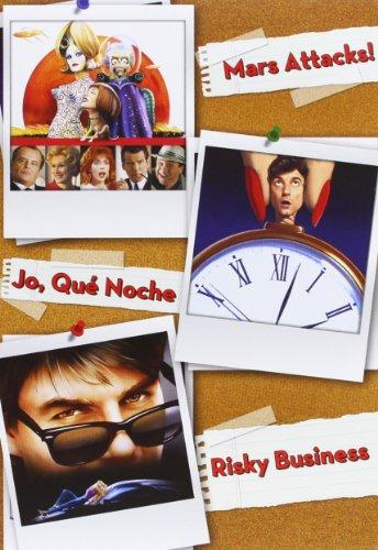Pack: Mars Attacks! + ¡Jo, Qué Noche! + Risky Business [DVD]