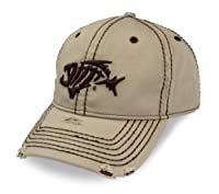 G. Loomis A-Flex Distressed Hat - Khaki - M/L from G. loomis