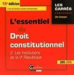 L'essentiel du droit constitutionnel...